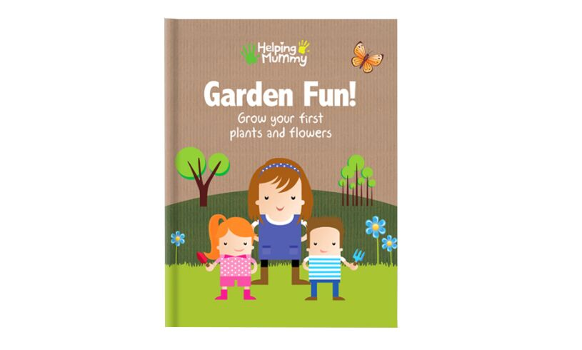 Garden Tools and Book Set