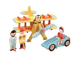 Krooom Racing Team 3D Playset