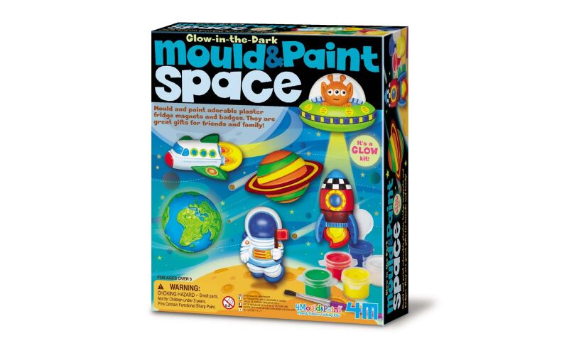 4M Mould & Paint SPACE - Glow in the dark