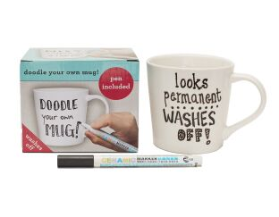 Doodle your own mug