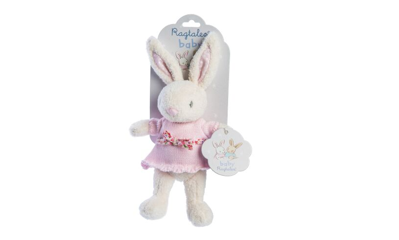 Ragtales Fifi Baby Rattle Packing