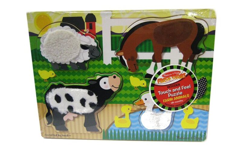 Farm Touch & Feel Puzzle Close Up