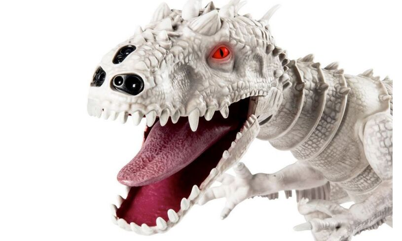 Jurassic World Indominus Rex Zoomer Dino Close Up