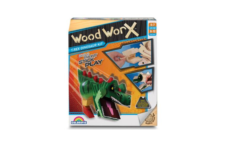 T-Rex Dinosaur Kit - Wood Worx Box
