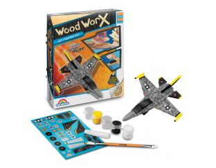 Jet Fighter Kit - Wood Worx