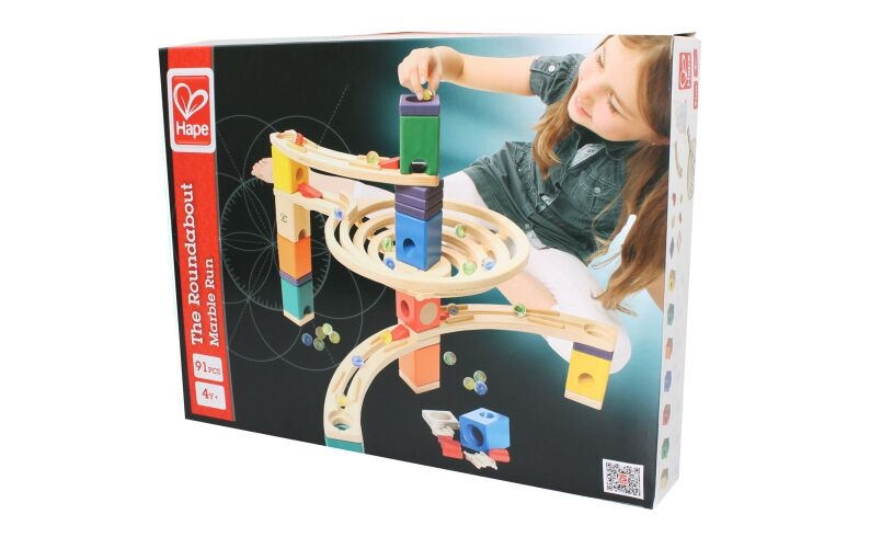 Hape The Roundabout Marble Run Box