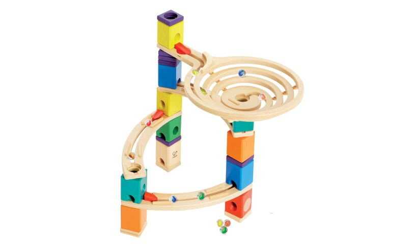 Marble Run The Quadrilla Roundabout Girls Aged 4