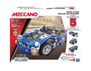 Meccano Race Cars - 5 Model Set 16208