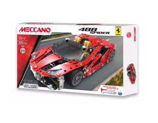 Ferrari 488 Spider - Meccano Model Set