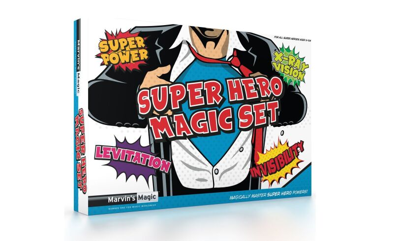 Super Hero Magic Set - Marvin's Magic