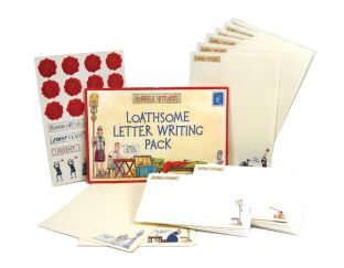 Loathsome Letter-Writing Pack - Horrible Histories