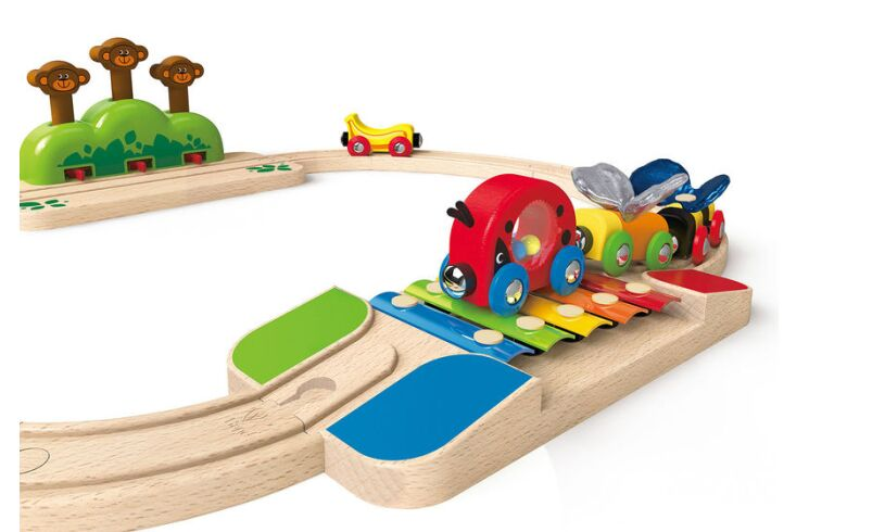 Hape My Little Railway Set