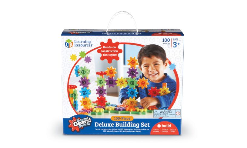 Deluxe Building Set - 100 Pieces Box