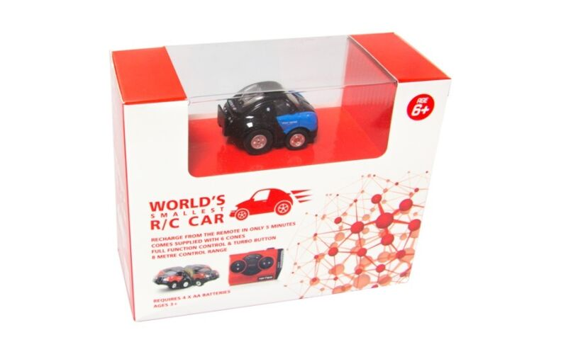 World's Smallest RC Car Boxed