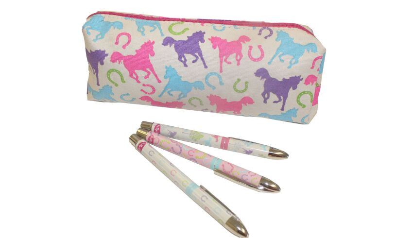Milly Green Playful Ponies Stationery