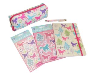 Milly Green Pony Stationery Set