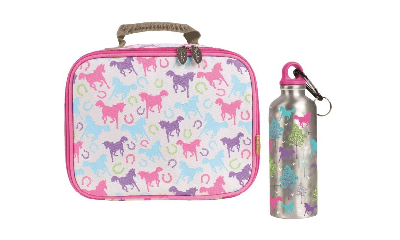 Playful Ponies Lunch Bag & Drink Bottle
