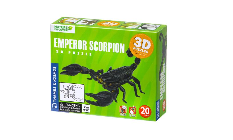 Nature Discovery Emperor Scorpion 3D Puzzle