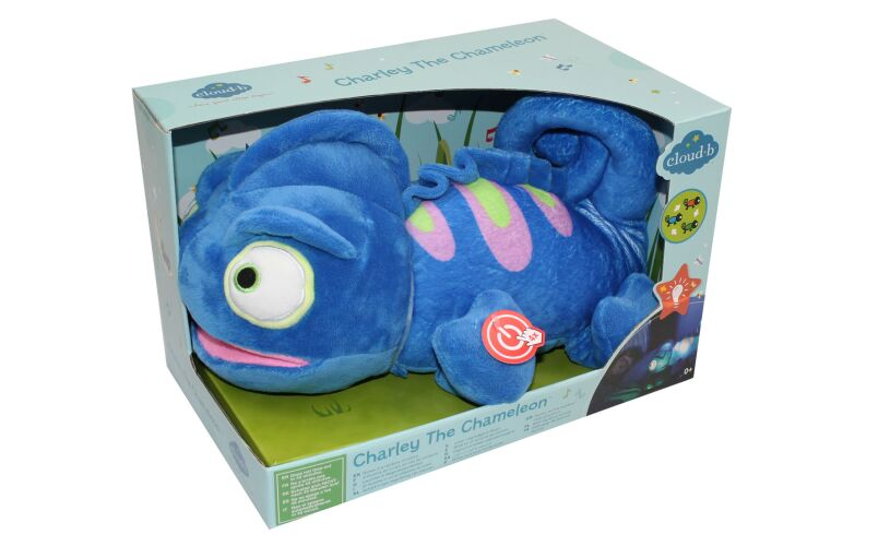 Cloud B Charley The Chameleon - Cuddly Night Light Packaging