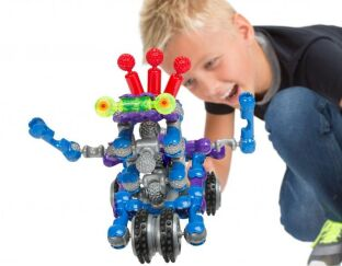 Alex Brands Builderz Zoob Bot 54 piece set