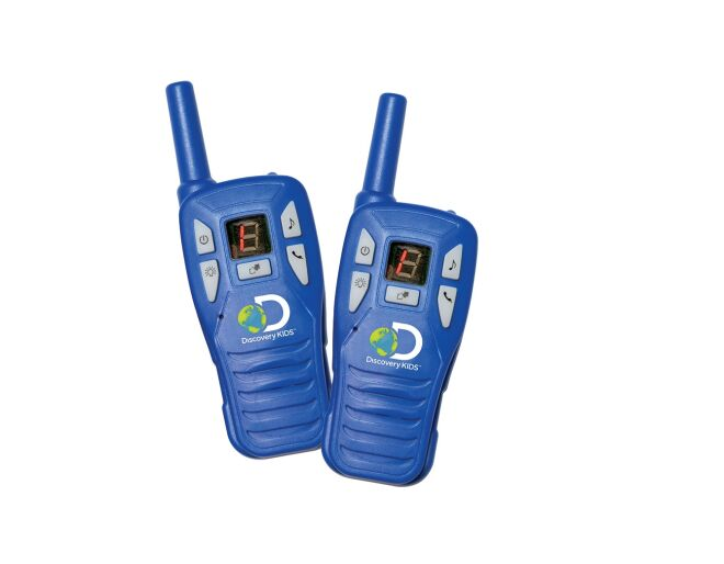Discovery Kids Digital Walkie-Talkies Contents