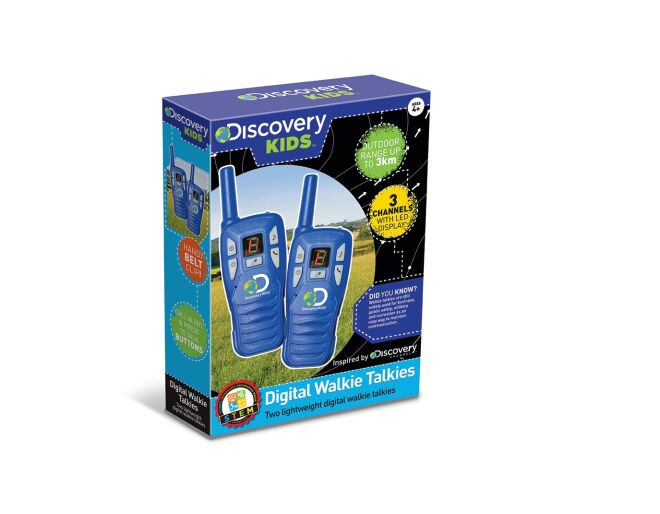 Discovery Kids Digital Walkie-Talkies Box