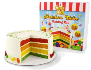 Candy Crush Rainbow Cake Baking Set