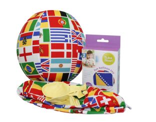 Bubabloon - World Flags Balloon Ball