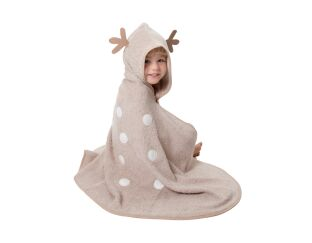 Cuddledry cuddledeer toddler bath towel