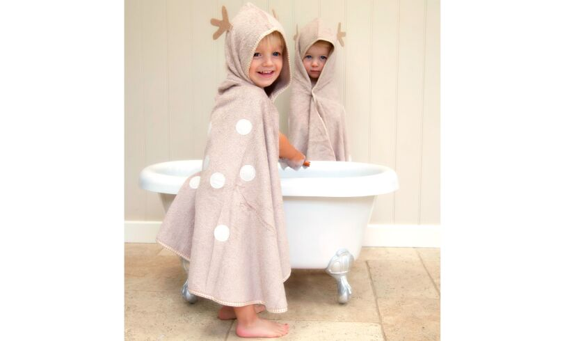 cuddledeer toddler bath towel