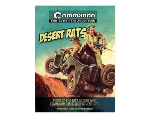 Commando Books Set of 2 - Desert Rats & Airborne Assault