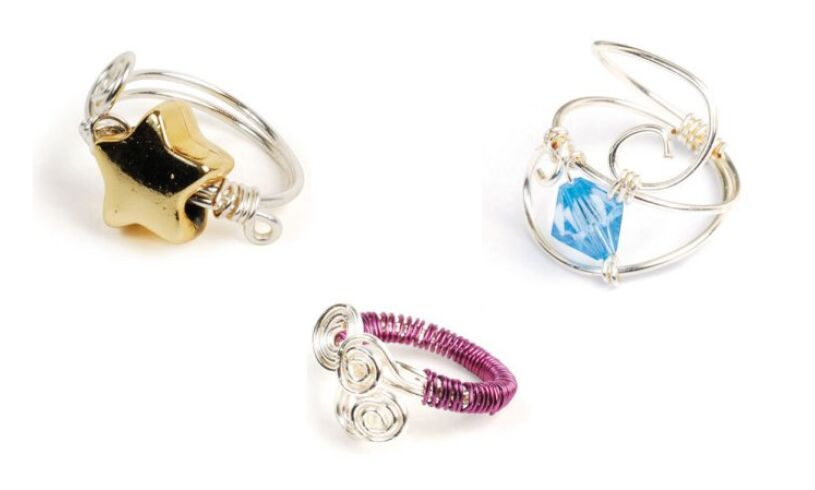 Interplay Wire Craft Rings