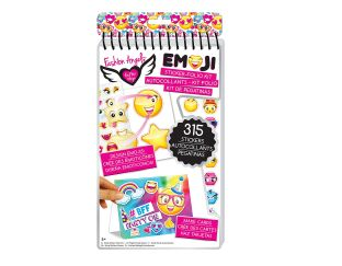 Fashion Angels Emoji Sticker Folio Kit