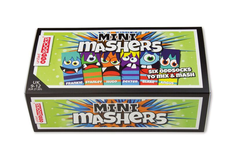 MINI Mashers - Six Odd Socks Box