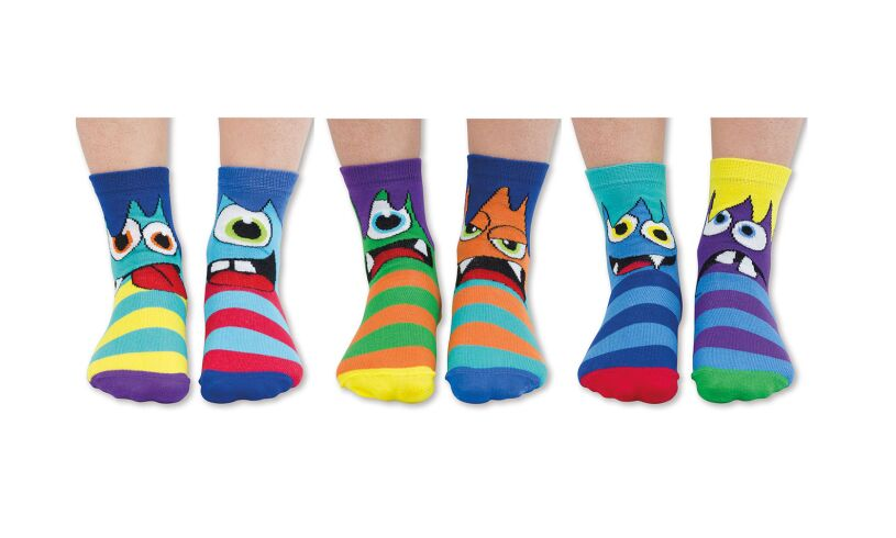 MINI Mashers - Six Odd Socks Contects