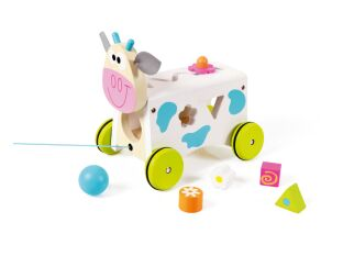 Scratch Europe Marie Cow Activity Wagon