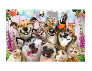 PET Selfies - 3D Puzzle