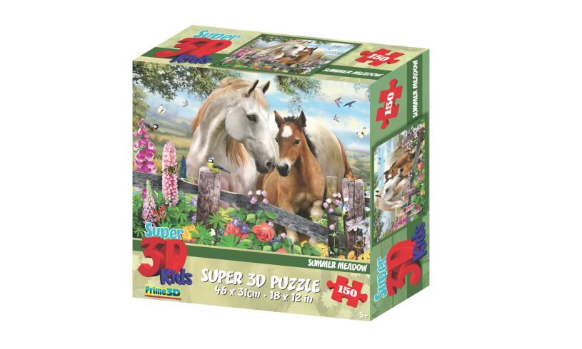 Prime3D Summer Meadow - 3D Puzzle