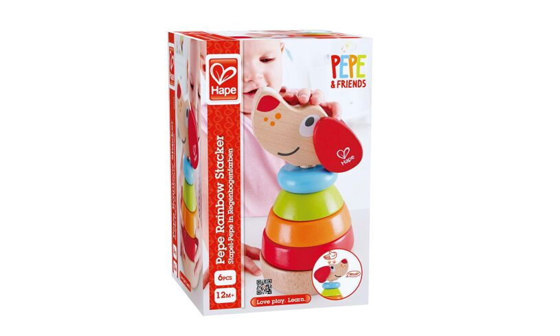 Hape Pepe Magnetic Stacker Box