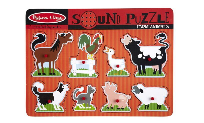 Melissa & Doug Farm Sound Puzzle