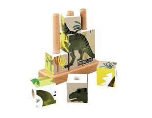 Floss and Rock Dinosaur Cube Puzzle