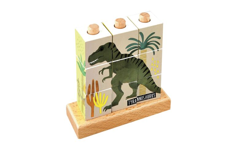 Floss and Rock Dinosaur puzzle