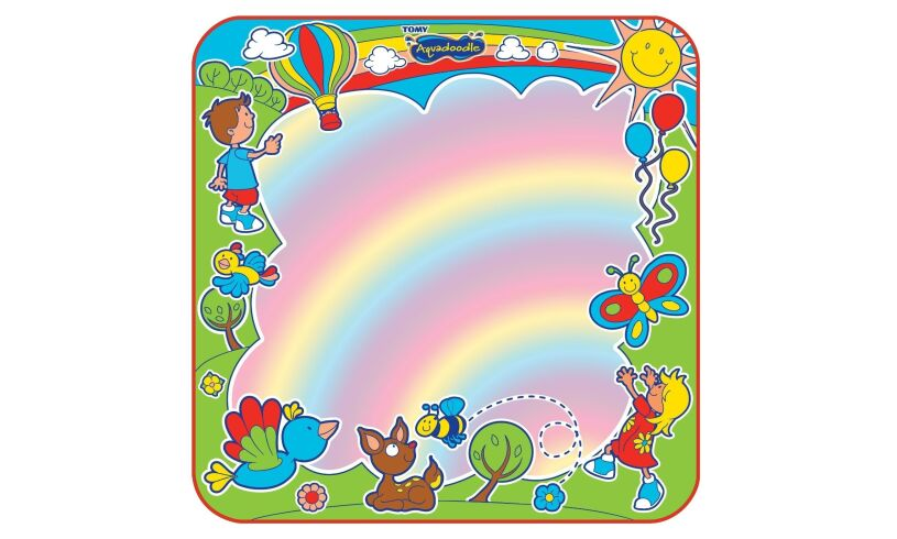 Tomy Aquadoodle Rainbow Closeup