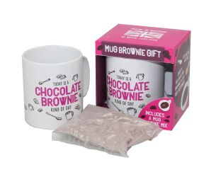 Bakedin Mug Brownie Kit
