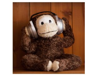 Magic Moving Monkey Speaker