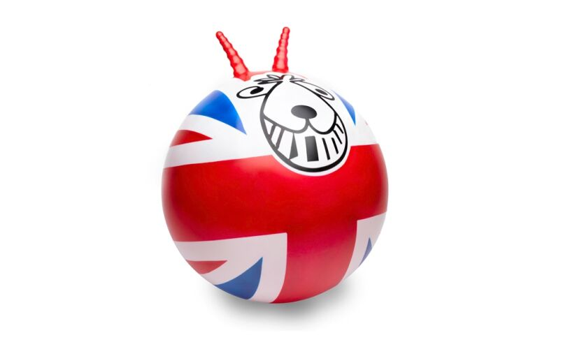 Union Jack Retro Spacehopper