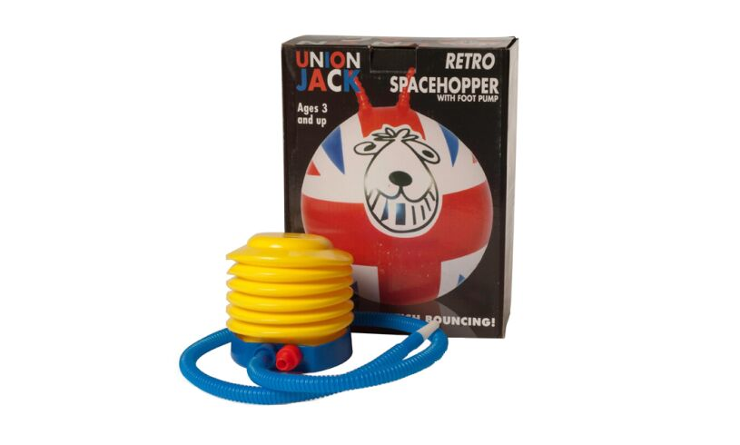 Funtime Union Jack Retro Spacehopper