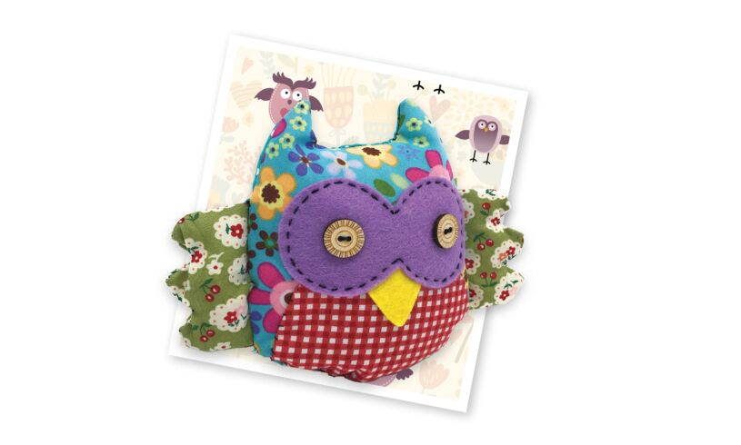 Crafty Kit Company Patchwork Owl Sewing Kit