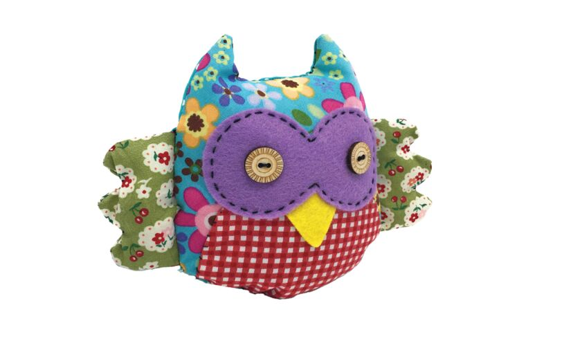 Patchwork Owl Sewing Kit