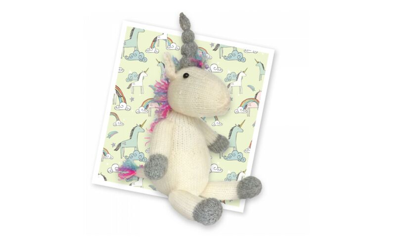 Crafty Kit Company Knit your own Unicorn